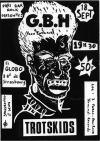 """18 septembre 1986 GBH, Trotskids à Paris """"El Globo"""""""