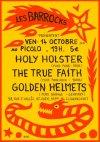 """14 octobre 2011 Holy Holster, The True Faith, Golden Helmets à Saint Ouen """"Picolo"""""""