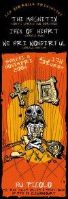 """8 novembre 2008 The Magnetix, Jack Of Heart, We Are Wonderful à Saint Ouen """"le Picolo"""""""