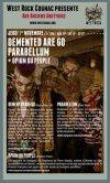 """1er novembre 2012 Demented Are Go, Parabellum, Opium du Peuple à Cognac """"Anciens Abattoirs"""""""