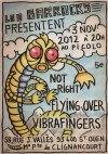 """3 novembre 2012 Not Right, Flying Over, Vibrafingers à Saint Ouen """"le Picolo"""""""