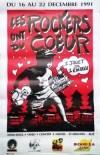 """22 decembre 1991 Luna Mice, Love Bizarre, Les Tambours du Bronx, Elmer Food Beat, Murray Head à Saint Sebastien """"L'Escall"""""""