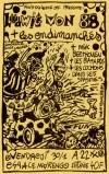 """30 janvier 1987 ludwig Von 88, les Endimanches, Mik Beethoven, les Batards, les Cochons dans les Spasmes à Angoulême """"Espace Marengo"""""""