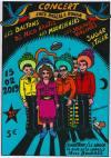 """15 février 2019 Les Daltons, DJ Nico Kantes, les Moonshiners, les Soucoupes Violentes, Sugar & Tiger à Bourge """"le Nadir"""""""