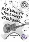 """30 novembre 1986 Bad Losers, Kingsnakes, Cover Boys à Paris """"la Crypte"""""""