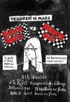"""16 mars 2007 Garage Lopez, Brigitte Bop, les Gamins Déchainés, les Prouters à Bures Sur Yvette """"K'fet d'Orsay"""""""