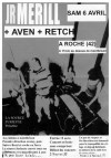6 avril 2002 Jr Merill, Retch, Aven à Roche-en-Forez