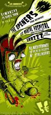 "13 avril 2008 The Openers, Lux Mental Hospital, Grrzzz à Paris ""Mediteranée"""