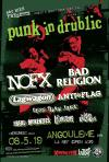 "8 mai 2019 NOFX, Bad Religion, Lagwagon, AntiFlag, Less Than Jake, The Real McKenzies, the Lillingtons, The Dead Krazukies à Angouleme ""la Nef"""