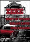 "14 juin 2017 Zeke, Eight Of Spades, Garage Lopez, Iron Lizards à Paris ""Gibus"""