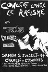 """2 juillet 1994 (?) Les Rats, Cry Babies, Zarmaraia à Corbeil """"Square Courbet"""""""