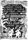 14 juillet 1999 les Sauvageons, Blutt, DJ Jean à Saint Ouen