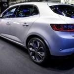 Francfort 2015 Automobile 54 Nouvelle Renault Megane 4 2016 Les Voitures
