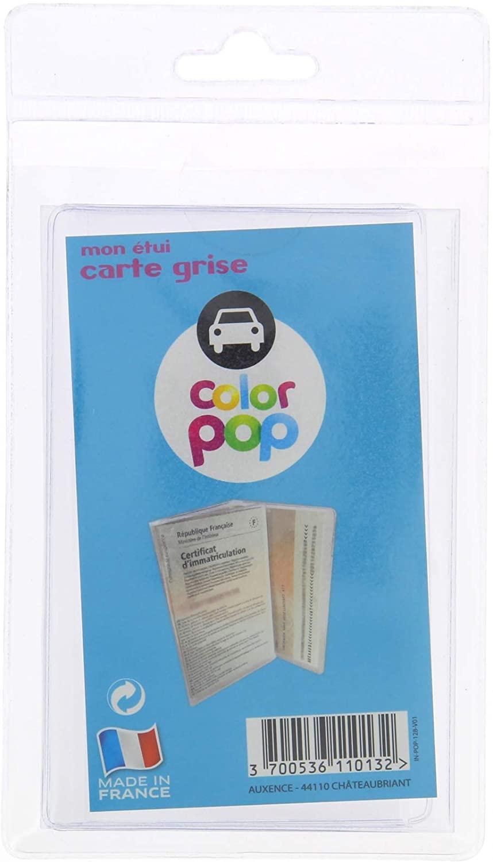 pochette de protection de carte grise