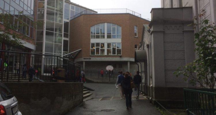 Entrée Ecole Saint Paul à Bergen