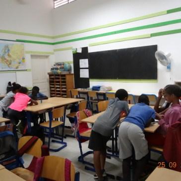 Les classes au Sénégal