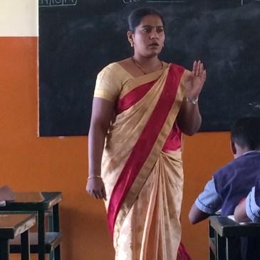 Les enseignants en Inde