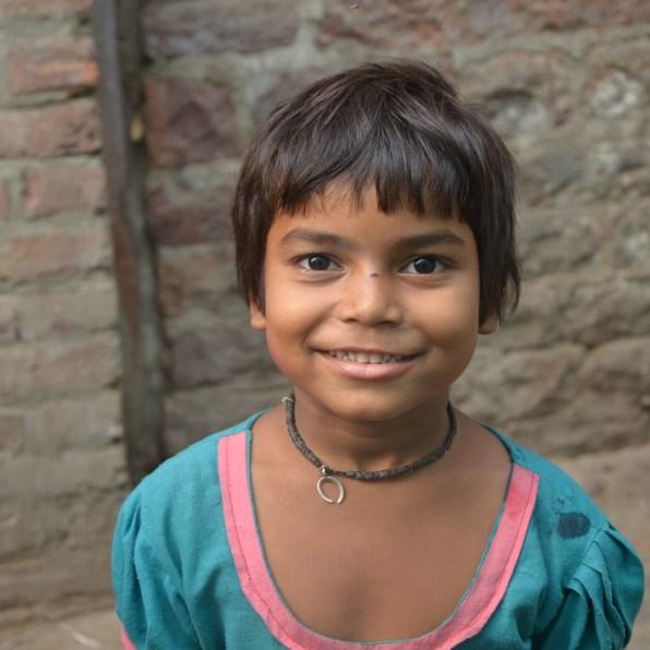 Les femmes et les enfants de Fathepur-Sikri, Inde