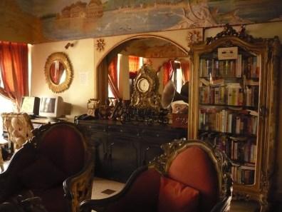 La salle de repos, bibliothèque