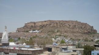 Le fort depuis la ville