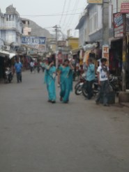 Dans les rues