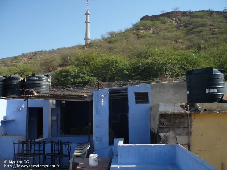 Le restaurant sur le toit de ma guesthouse