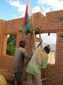Levé de drapeau, signifiant que la cuisine a atteins la hauteur désirée;