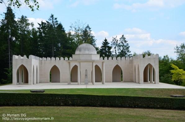 Le monument dédié aux musulmans