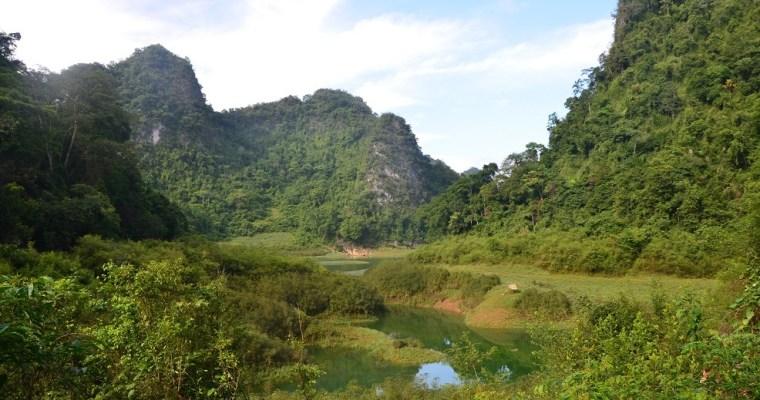 Le lac Thang Hen