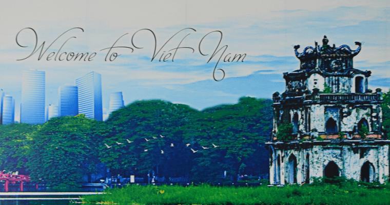Le départ et l'arrivée au Vietnam
