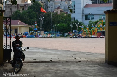 Le parc d'attraction de la ville