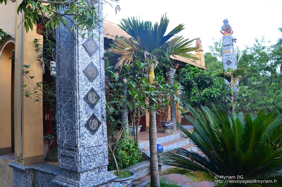Temple familiale destiné aux ancêtres au Vietnam