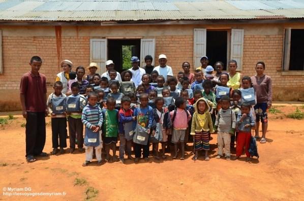 Les élèves de l'école d'Andozoka