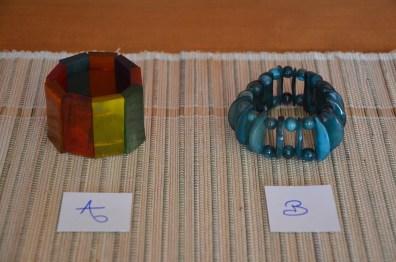 Bracelets élastique corne de zébu, photo F