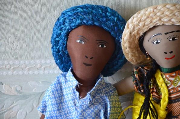 Couples de poupées de chiffon, 18€