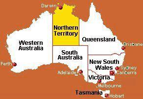 Australie - Le Territoire du Nord