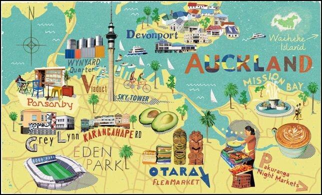 Auckland et Devonport - NC
