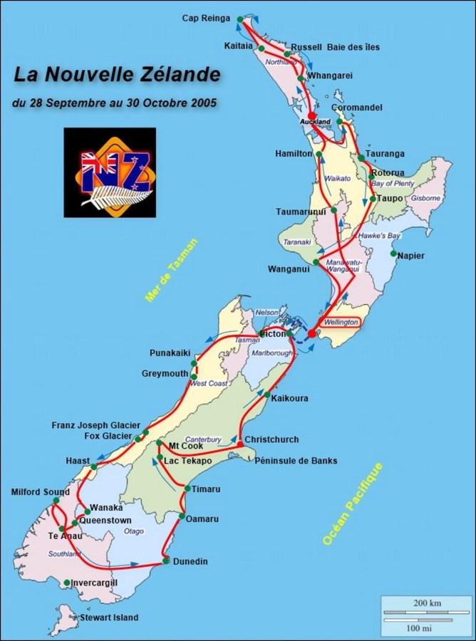 Circuit Nouvelle Zélande 2005