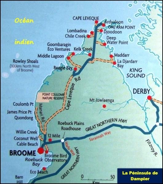 La Péninsule de Dampier - Ouest Australie