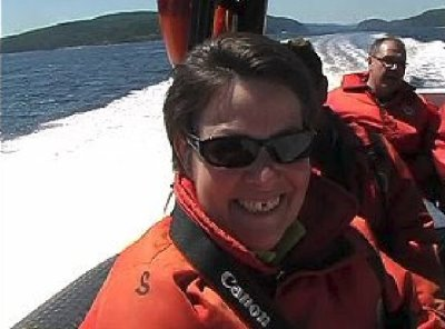 Tadoussac - les baleines en zodiac