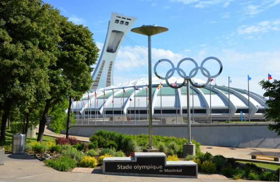 Stade olympique de Montréal - 1976