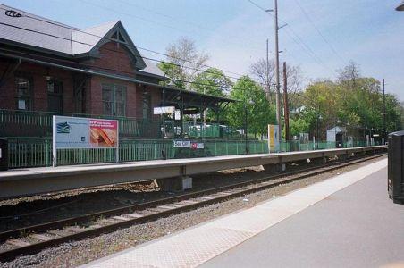 Gare de Sea Cliff - Long Island (USA)
