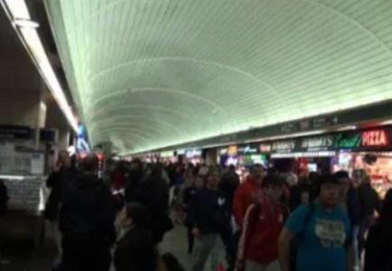 Les couloirs de Penn Station - New York