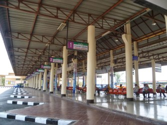Bus terminal de Sukhothaï - Thaïlande
