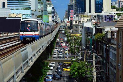 Le skytrain de Bangkok