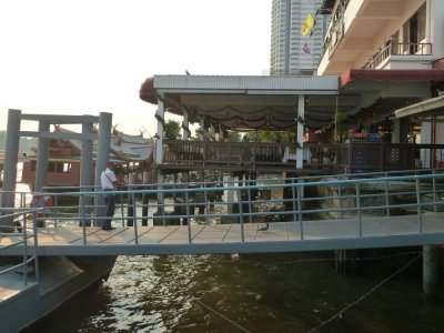 Restaurant au bord des klongs - Bangkok de Bangkok - Thaïlande