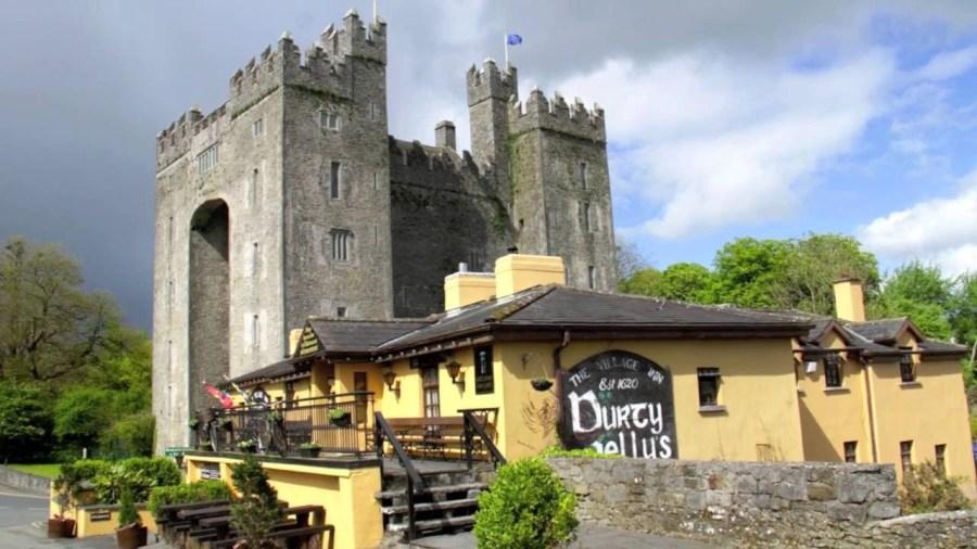 Le château de Bunratty - comté de Clare (Irlande)