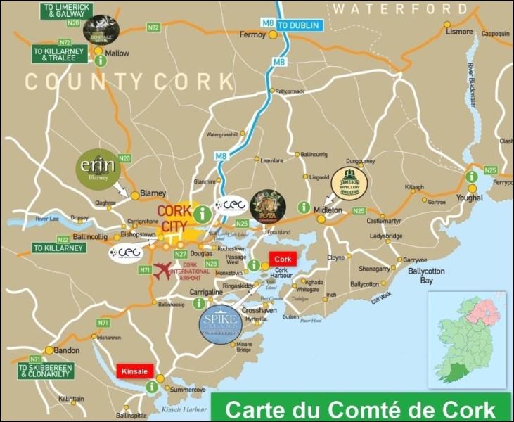 Le comté de Cork - Irlande