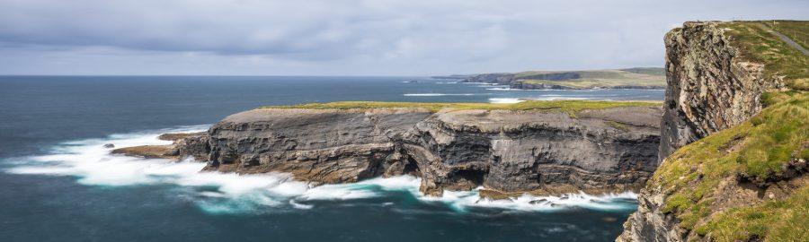 Les falaises de Kilkee - Irlande