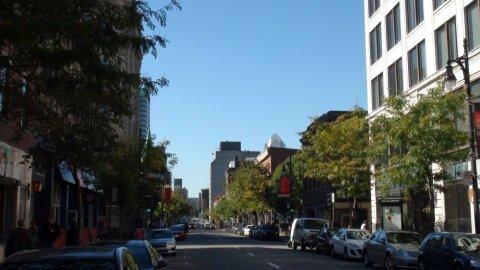 Le vieux Montréal et le vieux port - Québec